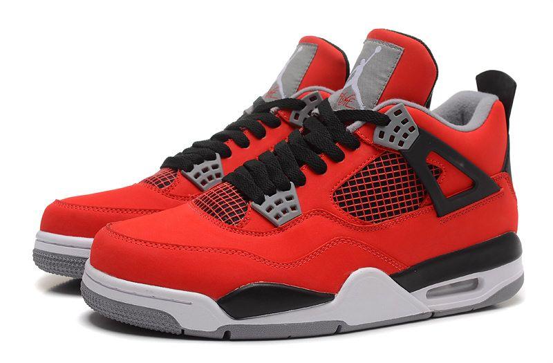 41869c79b766 Nike Air Jordan Retro 4 красные 41-46 - купить в Москве в интернет ...