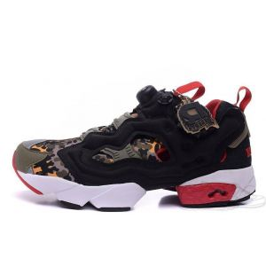 Reebok Insta Pump Fury OG x Solebox Camo Black Red (36-40)