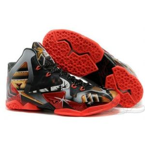 Nike Lebron 11 Black Red (41-45)