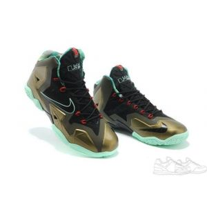 Nike Lebron 11 Elite Black Brown (41-45)